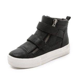 "Ash ""Jump"" Leather Zip Sneaker"